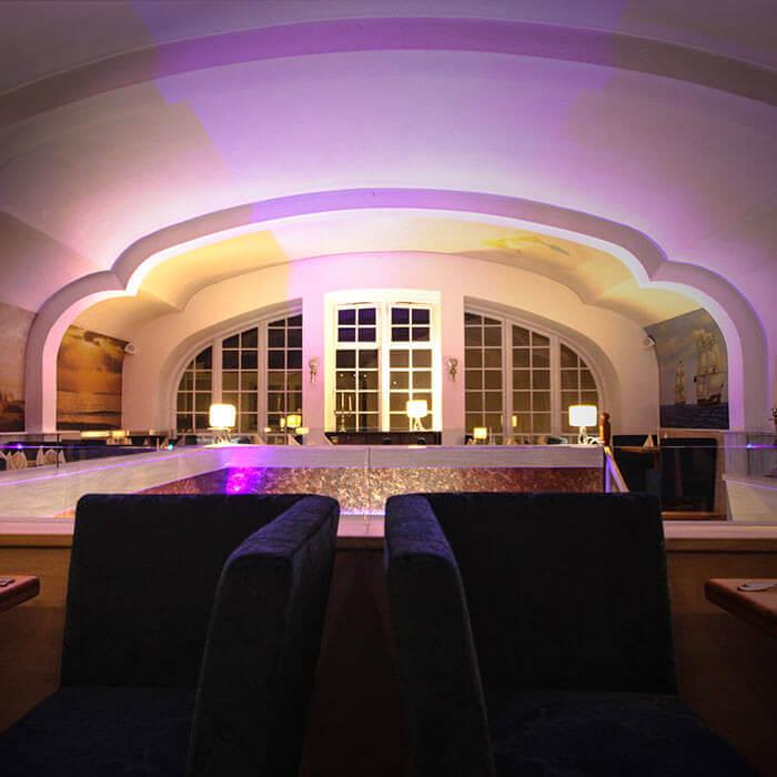 Steakhouse Garpunkt Lichtsystem