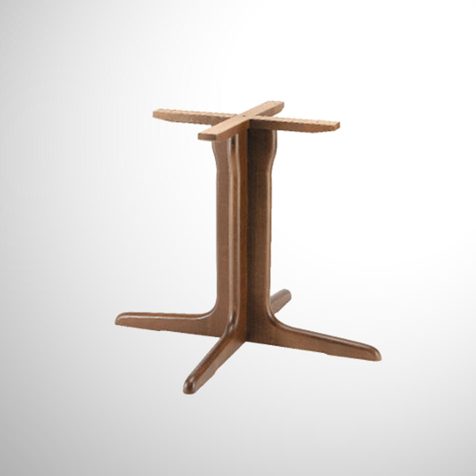 itg3000 tischgestell holz gastro elements. Black Bedroom Furniture Sets. Home Design Ideas