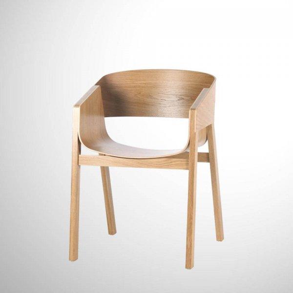 Armlehnen Stuhl Mareno ohne Polsterung