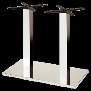ITG Tischgestell Doppelsäule verchromt