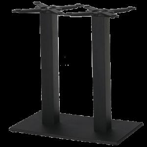 ITG Tischgestell Doppelsäule Gusseisen