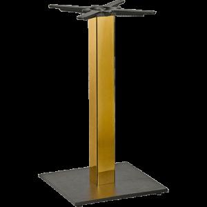 ITG  Tischgestell Gusseisen vergoldet