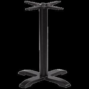 ITG Tischgestell Gusseisen Kreuzfuß einstellbar
