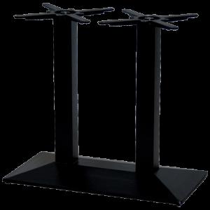 ITG Tischgestell Gusseisen Doppelsäule konisch