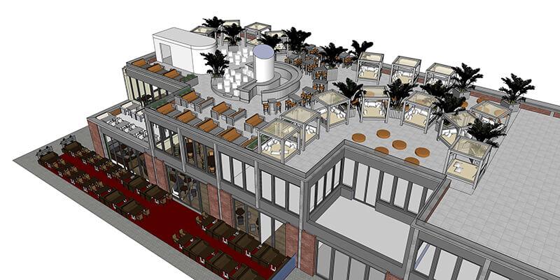 Elephant Dachterrasse - Rooftop Bar