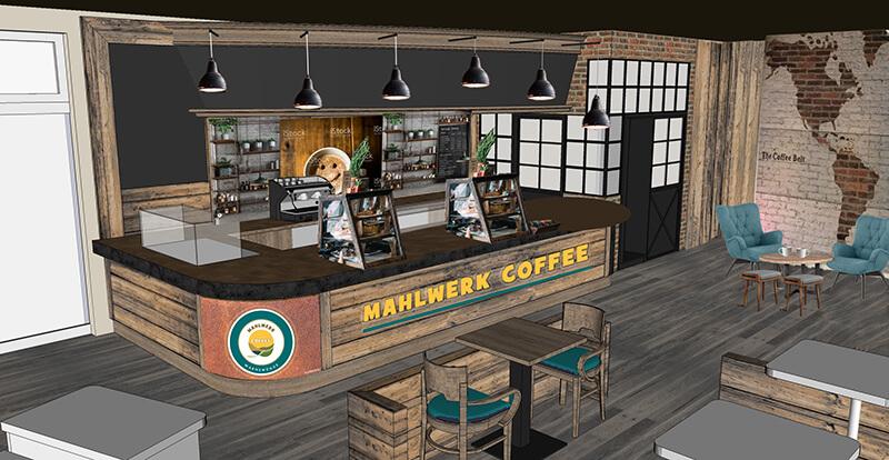 Planung Mahlwerk Coffee Warnemünde